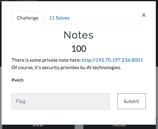 AI CTF: writeup and solutions